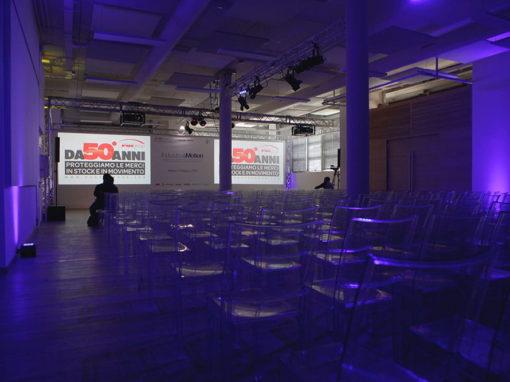 Allestimento location per evento aziendale